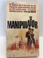 The Manipulator, William Johnston, Magnum Paperback 73-499, 1974
