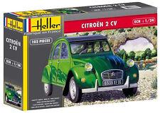 "Oldtimer 1:24 Heller 80765: Citroen 2 CV - ""Ente"""