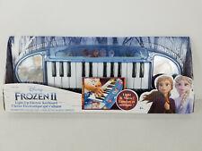 Disney Frozen 2 Ii Light Up Electric Keyboard Small Size. Age 4+