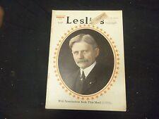 1919 DECEMBER 27 LESLIE'S WEEKLY MAGAZINE - VP THOMAS MARSHALL - ST 2271