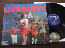 LP IL Jochen Brauer Sextett Live-Party German beat GERMANY 1967 | EX