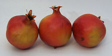 Designer One Artificial Faux Fake Weighted Pomegranate Fruit