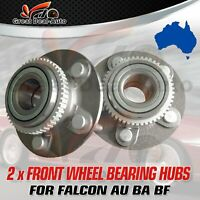 Front Wheel Bearing Hubs for Ford Falcon AU BA BF XR6 XR8 GT Territory SX SY 2WD
