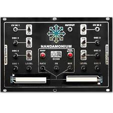 Nandamonium - Eurorack Double Drone with Echo by Synthrotek