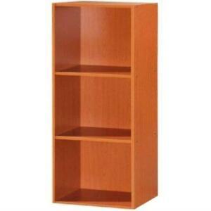 Hodedah 3 Shelf Bookcase - Beech