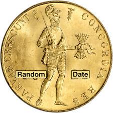 Netherlands Gold 1 Ducat .1104 oz - Bu - Random Date