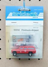 Trident Firetruck-Airport Chevy Suburban 90058 HO