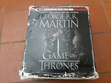 GAME OF THRONES Book 1 A Song of Ice and Fire Audiobook 28 CDs George R.R Martin