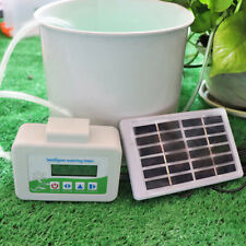 Solar Automatic Watering Device Garden Plant Drip Irrigation Timer System
