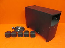 Bose Acoustimass 6 Series V Home Theater Speaker System Black Incomplete 8868