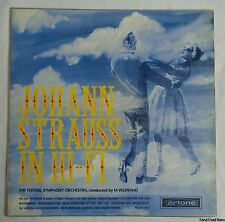 "klassiek JOHANN STRAUSS IN HI-FI Festival Symphony Orchestra 12"" LP VINYL 1966"
