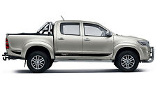 gt stripe decal set for Toyota Hilux 2010 to 2014 and custom for  4WD Twin Cabs