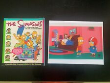 The Simpsoms Guide to Springfield Book + Bonus Bart Homer Marge Treehouse Horror