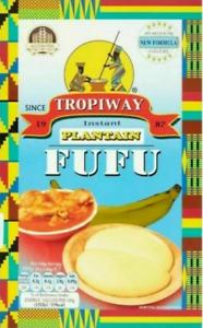 Tropiway Fufu Flour - Plantain or Coco Yam (680G)