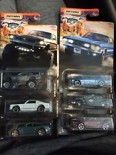 2020 MATCHBOX MUSTANGS COMPLETE SET OF 6 - BRAND NEW