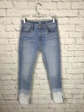 7 For All Mankind Ombre Ankle Skinny Jeans Size 27