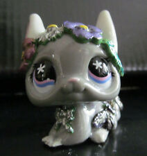 Littlest pet shop flower crown chinchilla custom hand painted & sculpted