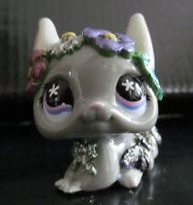 Littlest pet shop flower crown chinchilla custom hand painted & sculpted