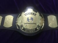 WWF World Heavyweight winged Eagle Wrestling Championship Adult Replica Belt2mm
