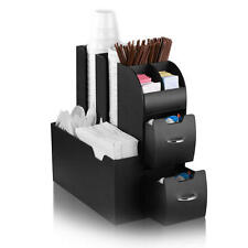 Take A Break Hot Drinks Office Coffee Condiment and Accessory Caddy-Tea,Keurig