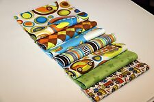 """BUiLD A QUiLT-Rag Quilt Kit Designer Riley Blake ON THE GO  New Fabric 48 6"""" sq"""