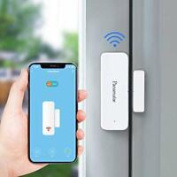 Panamalar Door Window Sensor Wifi Door Alarm System, Detects Opened and Closed