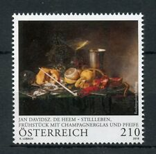 Austria 2018 MNH Jan Davidsz. de Heem Still Life Paintings 1v Set Art Stamps
