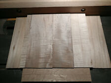 Unique Premium Lumber Pack- Ribbon Curl Maple, Top Quality, Project Ready