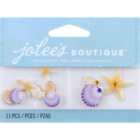 Jolee's Boutique Dimensional Embellishments 11/Pkg-Mini Seashells