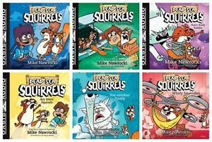 NEW Dead Sea Squirrels Set of 6 MP3 CDs Mike Nawrocki 1 2 3 4 5 6 Squirrel Away