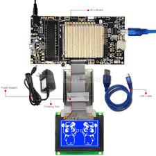 8051 Microcontroller Development Board Kit USB Programmer for 128x64 Graphic LCD