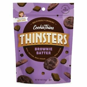 Mrs. Thinster's Cookie Thins Brownie Batter