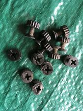 Vintage ESGE Bicycle Guard Fender Stay Nuts//Bolts 10pcs