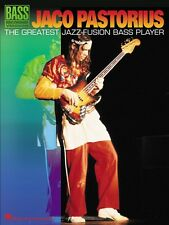 Jaco Pastorius The Greatest Jazz-Fusion Bass Player Sheet Music Bass R 000690421