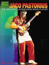 Jaco Pastorius The Greatest Jazz-Fusion Bass Player Sheet Music Bass R 000690421