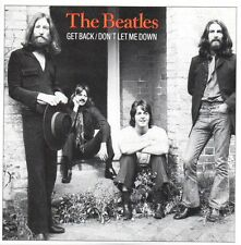 ★☆★ CD Single The BEATLES Get back 2-Track CARD SLEEVE   ★☆★