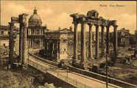 Roma Rom Italien alte Ansichtskarte ~1910/20 Foro Romano Partie am Forum Romanum