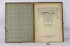 6304 - FORMES ET COULEURS. AOÛT H.THOMAS. LIB. CTRLE. DES BEAUX-ARTS