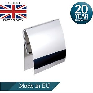 Toilet Roll Paper Holder 3M Self Adhesive Polished Stainless Steel Made in EU
