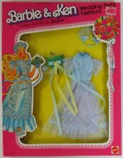 1979 Flower Girl Frills for Skipper Barbie and Ken Wedding Party Fashions 1419..