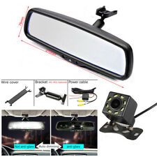 "4.3"" Auto Dimming TFT LCD Rear View Mirror Monitor + Dynamic Camera Night Vision"