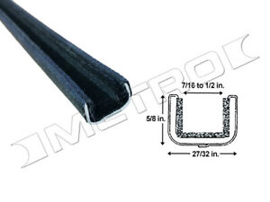 Flexible Window Channel Fits:1950-1963 Chevrolet and GMC full size pick-up truck