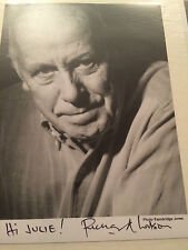 7x5 Hand Signed Photo of Richard Wilson - One Foot in the Grave