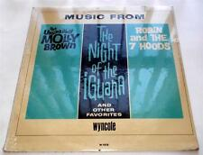 Music From Molly Brown  Night Of The Iguana  Robin & 7 Hoods 1964 1st ED Sealed