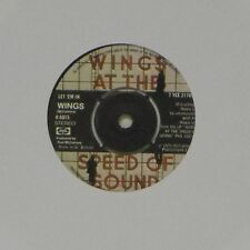 "WINGS 'LET 'EM IN' UK 7"" SINGLE"