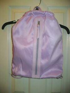 No Boundaries Women's Drawstring Bag Backpack New Lavender Nylon