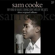 Sam Cooke THREE ALBUMS My Kind Of Blues/Swing Low/Hits Of The 50s NEW VINYL 2 LP