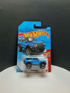 Hot Wheels 2020 ** '21 Ford Bronco ** #100 Then And Now 3/10 New Long Card