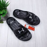 Under Armour Locker III Slide Sandals Youth 5Y Women's Size 6 NWT Fast Shipping!