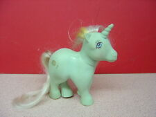 "1983 Hasbro Hong Kong MY LITTLE PONY Unicorns ""Sunbeam""? Gold Sun Symbol"
